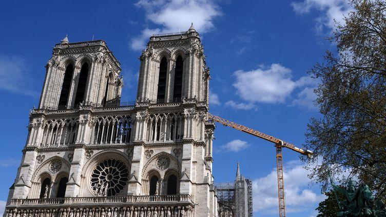 Les travaux de sécurisation de la cathédrale Notre-Dame sont achevés. (ALEXANDRE MARCHI / MAXPPP)
