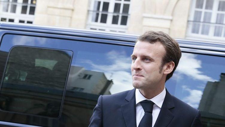(Emmanuel Macron, ministre de l'Economie et des Finances © Maxppp)