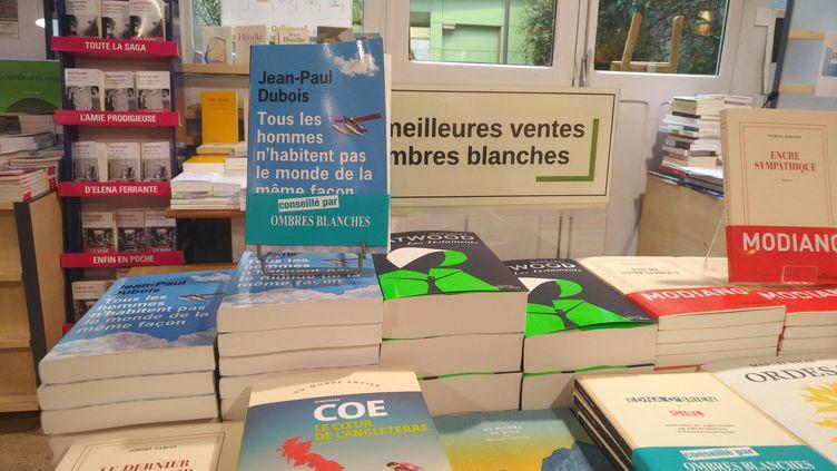 Un étal de la librairie toulousaine Les Ombres blanches, le 4 novembre 2019. (FRANCE BLEU OCCITANIE / RADIO FRANCE)