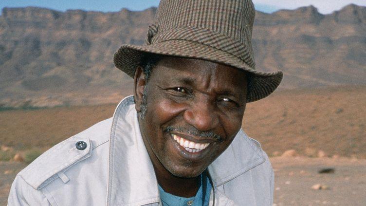 Le photographe malien Malick Sidibé.  (Magnin-A)