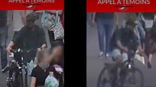 24 heures après l'explosion qui a fait 13 blessés à Lyon (Rhône), les enquêteurs traquent toujours le principal suspect. (FRANCE 2)