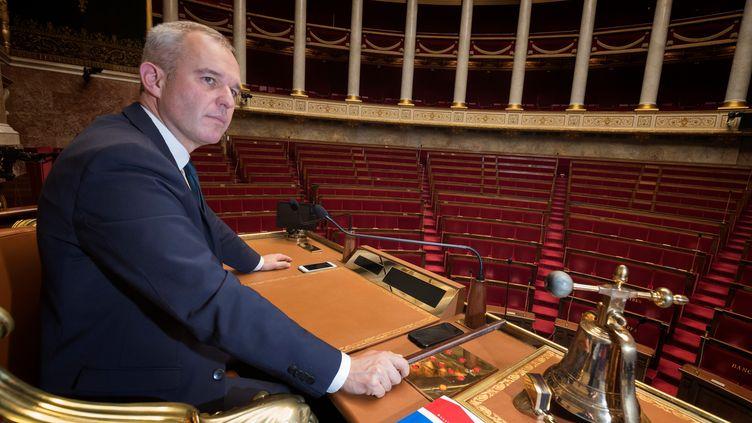 François de Rugy, président de l'Assemblée nationale. (JOEL SAGET / AFP)