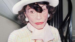 Coco Chanel à Paris, le 28 février 1969. (UPI)