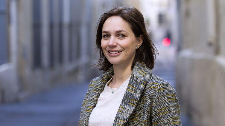 Nathalie Péchalat à Montpellier, le 13 février 2019. (GUILLAUME BONNEFONT / MAXPPP)