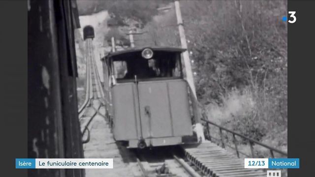 Isère : le funiculaire de Saint-Hilaire-du-Touvet fête ses 100 ans