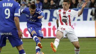 Le dernier derby corse entre Bastia et Ajaccioremonte au 20 avril 2014. (MAXPPP)
