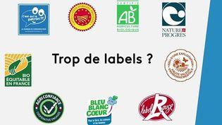 Consommation : certains labels alimentaires dénoncés par des associations (France 3)