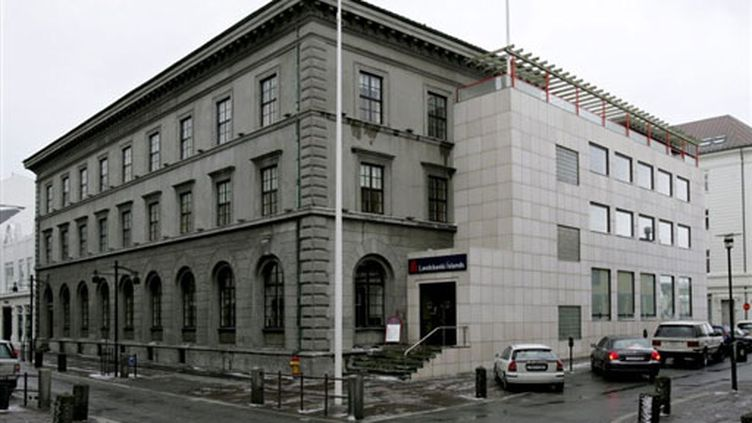 Le siège de la  banque islandaise Landsbanki, à Reykjavik. (AFP / Golli)