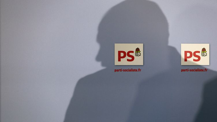 Au siège du PS, à Paris, le 23 octobre 2014. (PATRICK KOVARIK / AFP)