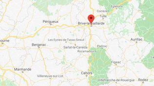 Brive en Corrèze. (GOOGLE MAPS)