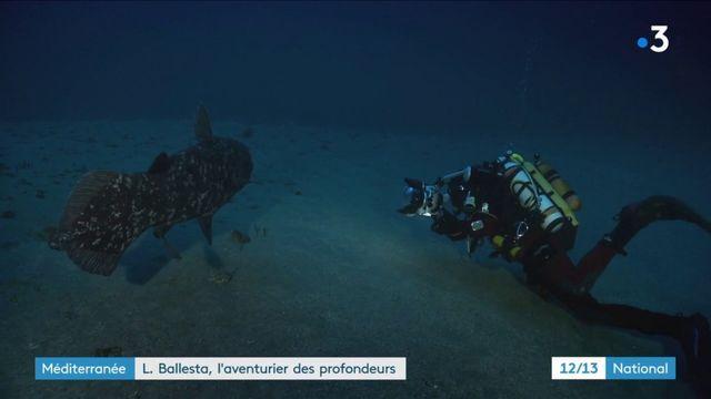 Environnement : Laurent Ballesta, un exploit pour découvrir les fonds marins