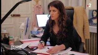 ENVOYÉ SPÉCIAL / FRANCE 2. Marlène Schiappa (ENVOYÉ SPÉCIAL  / FRANCE 2)