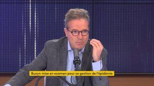 Martih Hirsch, le 13 septembre 2021, sur franceinfo. (FRANCEINFO / RADIOFRANCE)