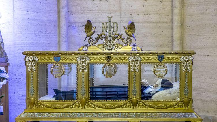 Bernadette Soubirousrepose à Nevers(Nièvre). (GUY CHRISTIAN / HEMIS.FR / AFP)