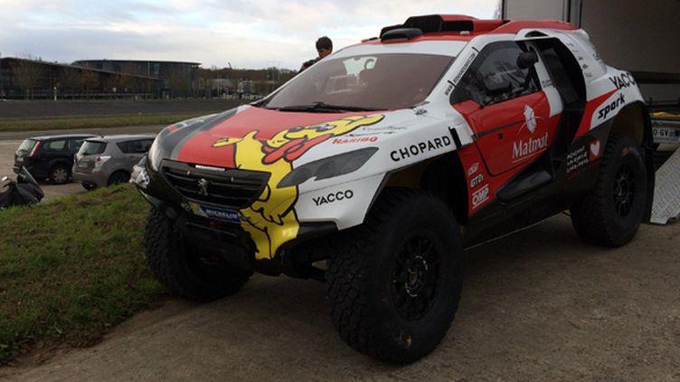 La Peugeot 2005DKR de Romain Dumas