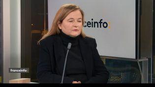 Nathalie Loiseau, eurodéputée LREM. (FRANCEINFO)