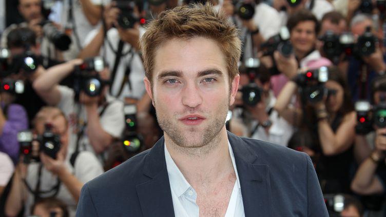 Robert Pattinson à Cannes, levendredi 25 mai 2012. (VALERY HACHE / AFP)