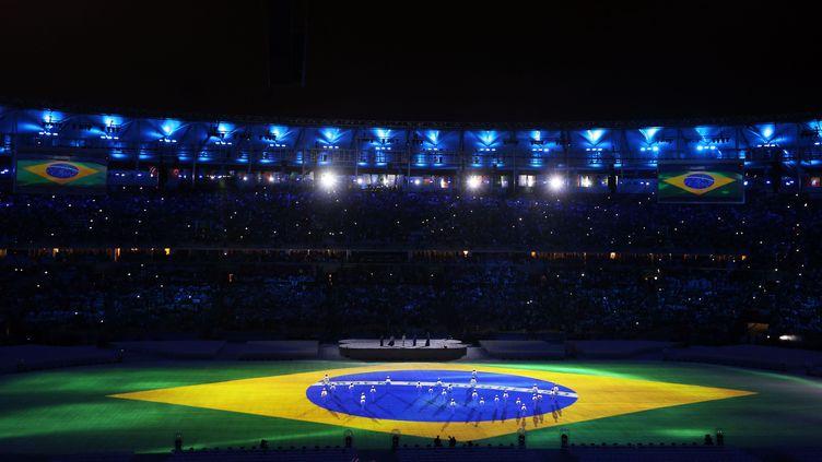 Le Maracana lors de la cérémonie de clôture des jeux Olympiques. (OKAN OZER / ANADOLU AGENCY)