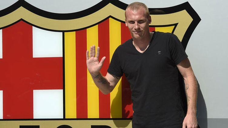 Jérémy Mathieu est le 19e Français à rejoindre les rangs du FC Barcelone