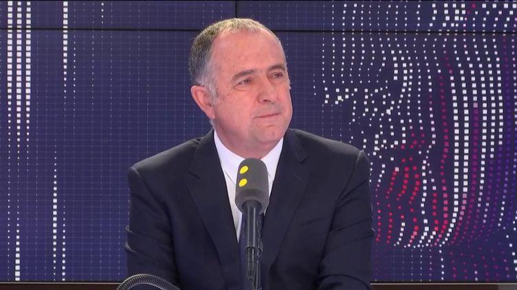 Didier Guillaume, invité du 8h30 Politique le 21 mai 2019. (FRANCEINFO)