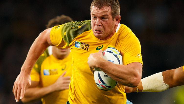 Le joueur australien Toby Smith durant le Mondial 2015 (  BEN QUEENBOROUGH / BACKPAGE IMAGES LTD)