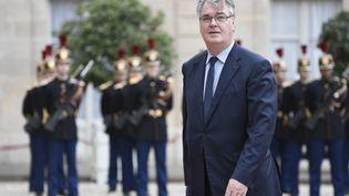 Jean-Paul Delevoye à l'Elysée le 14 mai 2017. (STEPHANE DE SAKUTIN / AFP)