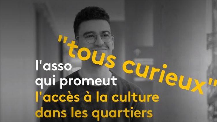 Tous curieux ; l'asso qui promeut l'accès à la culture pour tous. (FRANCEINFO)