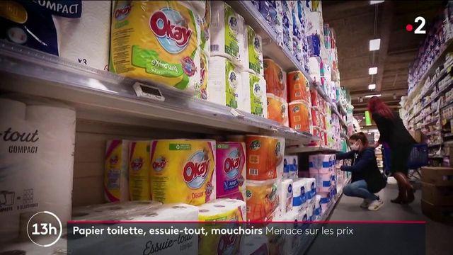 Pouvoir d'achat : le prix du papier toilette menacé d'augmentation