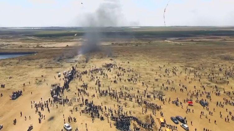 L'ONU accuse Israël de crime contre l'humanité. C'est un rapport qui indique que l'Etat hébreu aurait commis de possibles crimes contre l'humanité lorsdes manifestations de Gazaouis à la frontière israélo-palestinienne en 2018. (France 24)