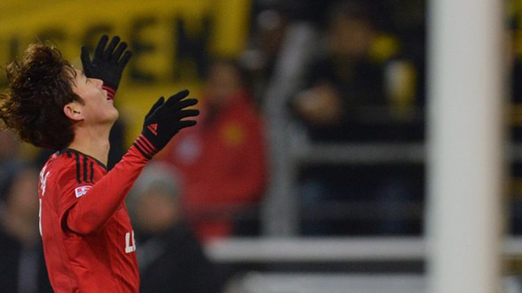 Heung Min Son (Bayer Leverkusen) (PATRIK STOLLARZ / AFP)