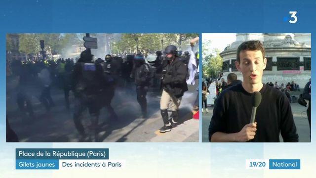 Gilets jaunes : des incidents à Paris