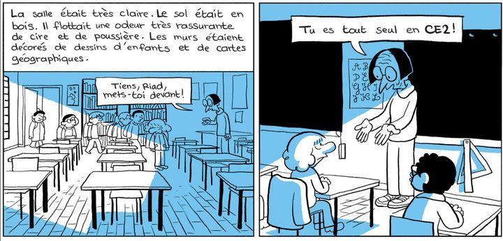 """L'Arabe du futur 3"", page 111  (Riad Sattouf / Allary Editions)"