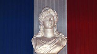 Un buste de Marianne, photographié à la mairie de Toulouse (Haute-Garonne), le 4 avril 2014. (PASCAL PAVANI / AFP)
