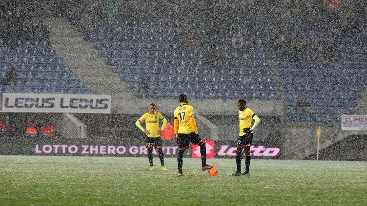 Le 15 janvier 2016, le FC Sochaux s'est incliné 3-2 contre Niort, à dimicile, au stade Bonal. (MAXPPP)