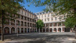 Le lycée Louis Le Grand, à Paris. (GILLES TARGAT / PHOTO12 / AFP)