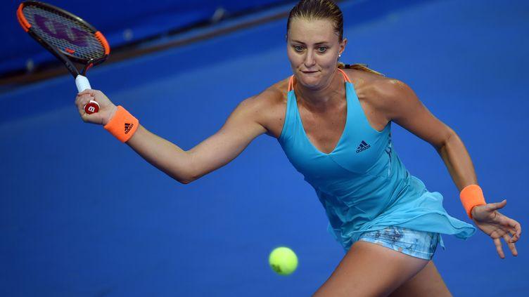 La joueuse française Kristina Mladenovic (ALFREDO ESTRELLA / AFP)