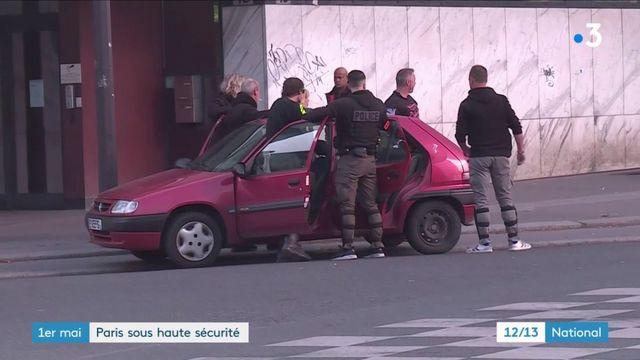1er-Mai : 7 400 gendarmes et policiers déployés à Paris