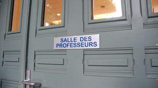 Photo d'illustration d'une salle des professeurs. (MAXPPP)