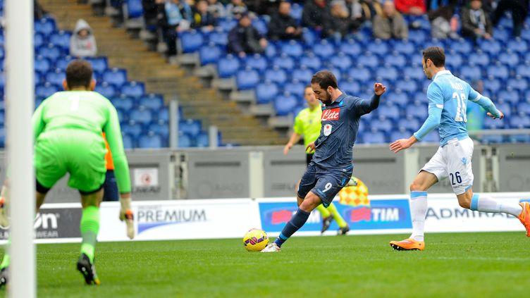 Gonzalo Higuain a encore frappé (JC / NURPHOTO)