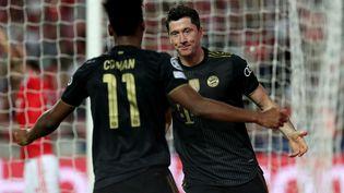 Robert Lewandowski, Kingsley Coman et le Bayern Munich survolent le groupe E de Ligue des champions. (PEDRO FIUZA / NURPHOTO)