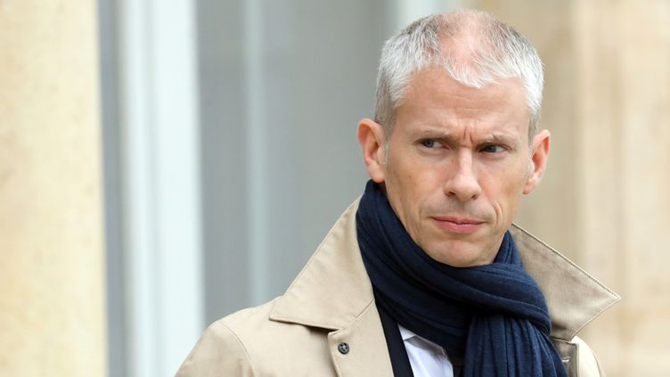 Franck Riester à l'Élysée, à Paris, le 5 décembre 2018  (Ludovic Marin / AFP)