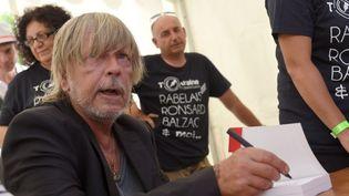 Le chanteur Renaud, le 28 août 2016, à Chanceaux-près-Loches. (GUILLAUME SOUVANT / AFP)