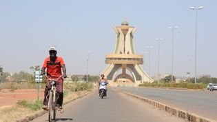 Monument à Ouagadougou capitale du Burkina Faso. (NATHANAEL CHARBONNIER / RADIO FRANCE)