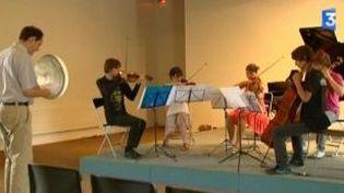 La Saline royale accueille une académie de musique  (Culturebox)