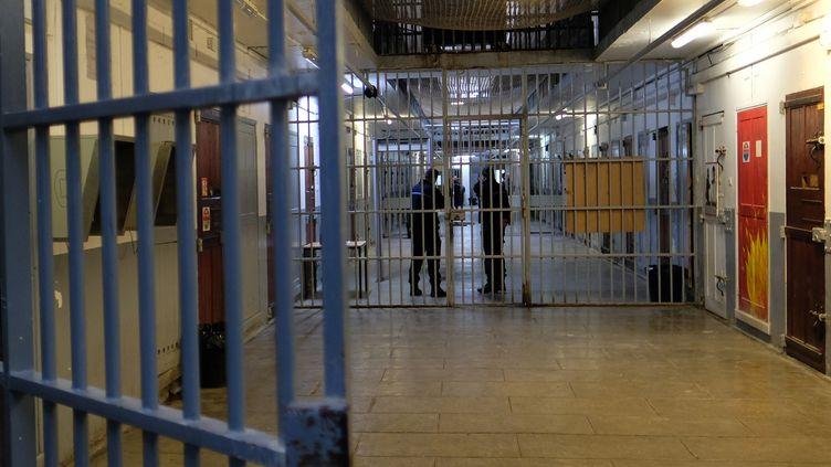 La prison des Baumettes, à Marseille, en novembre 2017. (BORIS HORVAT / AFP)