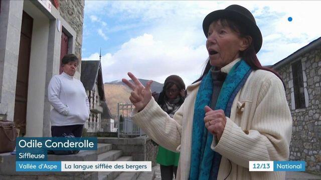 Vallée d'Aspe : l'apprentissage du langage sifflé perdure