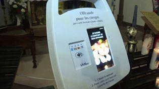 Machine pour participer à la quête de laparoisse de Marienthal. (FRANCE 3)