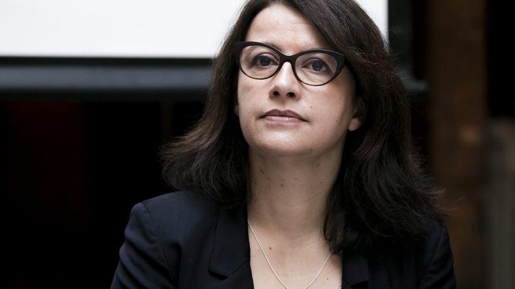Cécile Duflot lors d'une conférence de presse à Paris, le 18 décembre 2018. (MAXPPP)