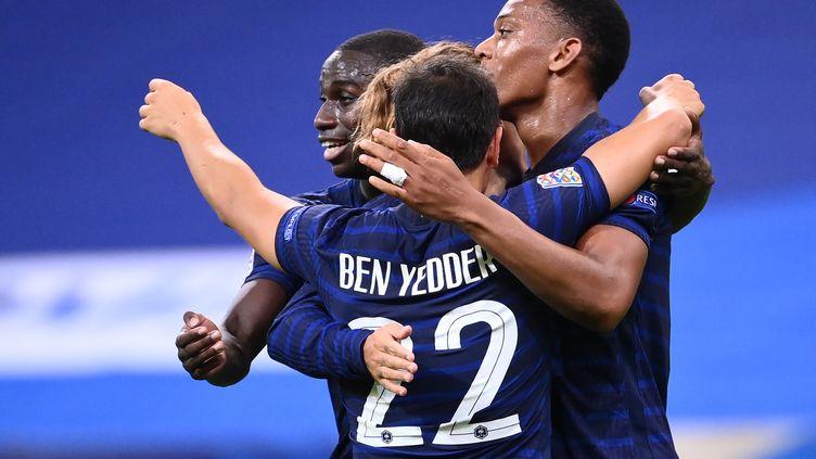 Anthony Martial et Wissam Ben Yedder, artisans majeurs du succès des Bleus (FRANCK FIFE / AFP)