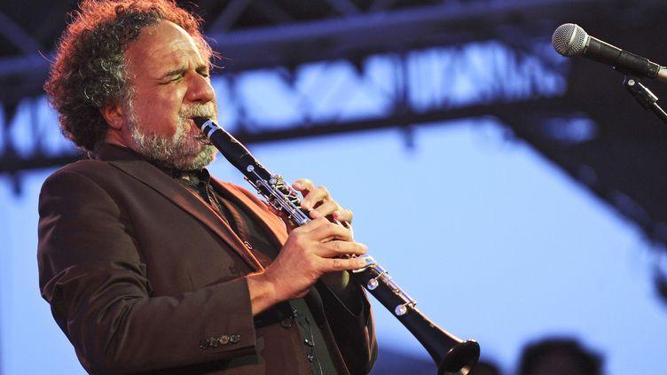 Le clarinettiste David Krakauer en août 2015.  (VINCENT DAMOURETTE/SIPA)